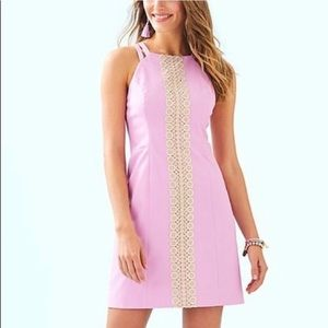 Lilly Pulitzer Lavender Pearl Shift Dress Size 00